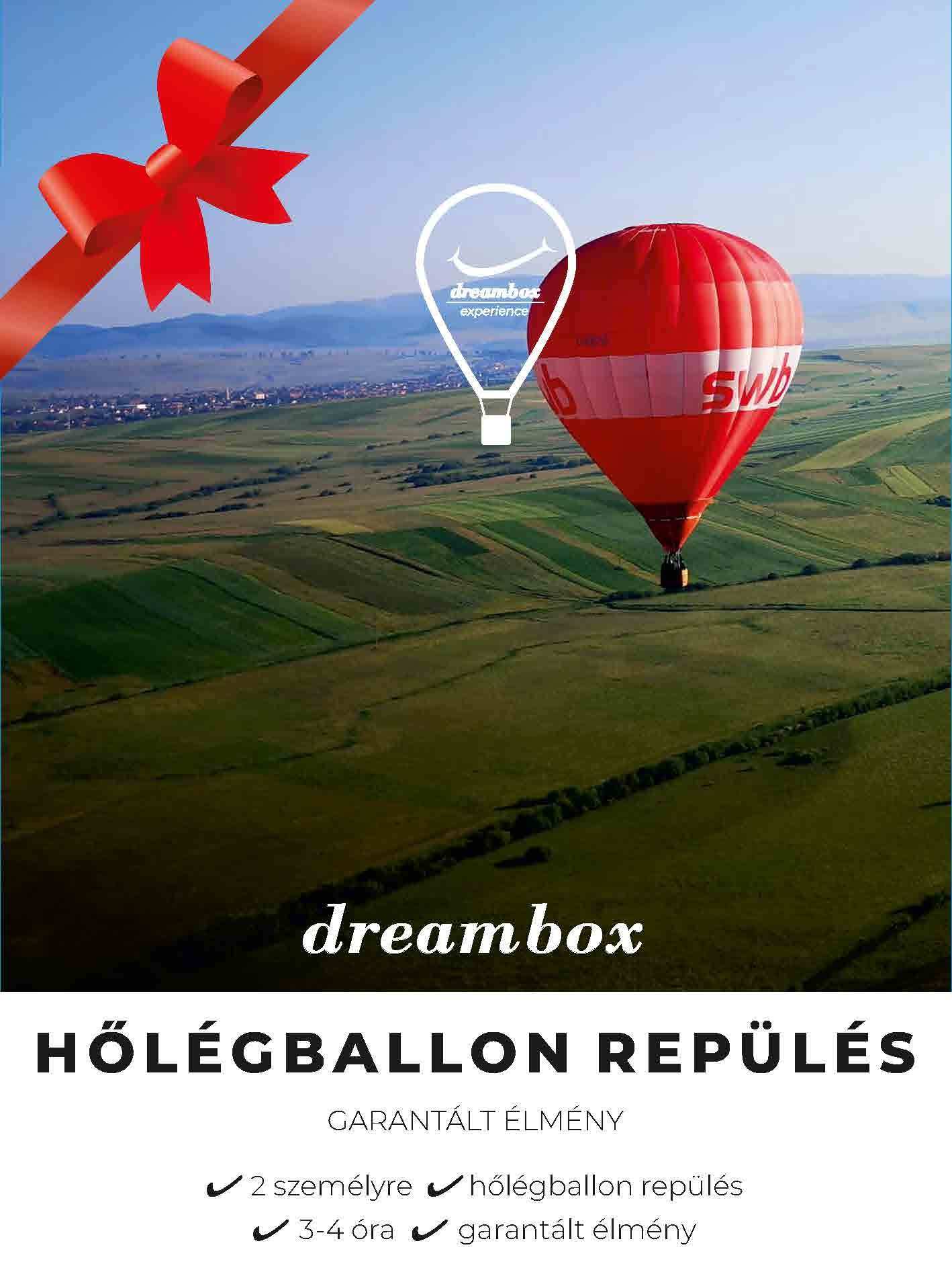 Hőlégballon repülés 2 személy